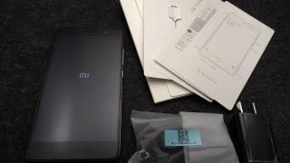 Xiaomi Red Mi Note3 Pro 開封