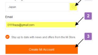 Xiaomi 端末のブートローダーアンロック申請手順 ( 1. Miアカウント作成 )