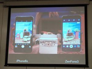 iPhone6sとの手振れ比較