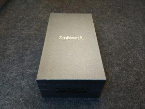 ZenFone3 化粧箱(表面)