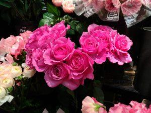 駅構内にある花屋