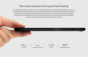 7.6mm Slim body
